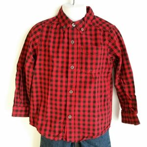 Children's place boy's size 4T button down